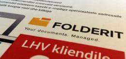 LHV pank dokumendihaldus Folderit