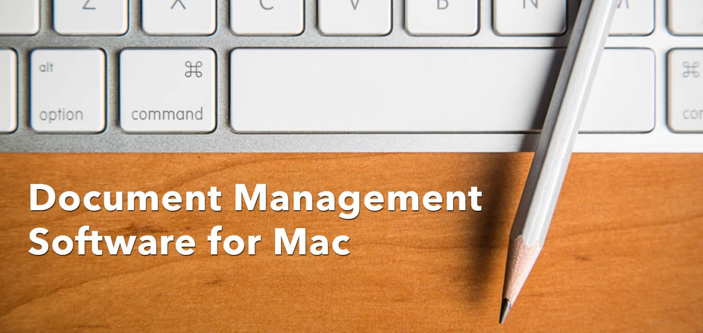 Document Management Software for Mac