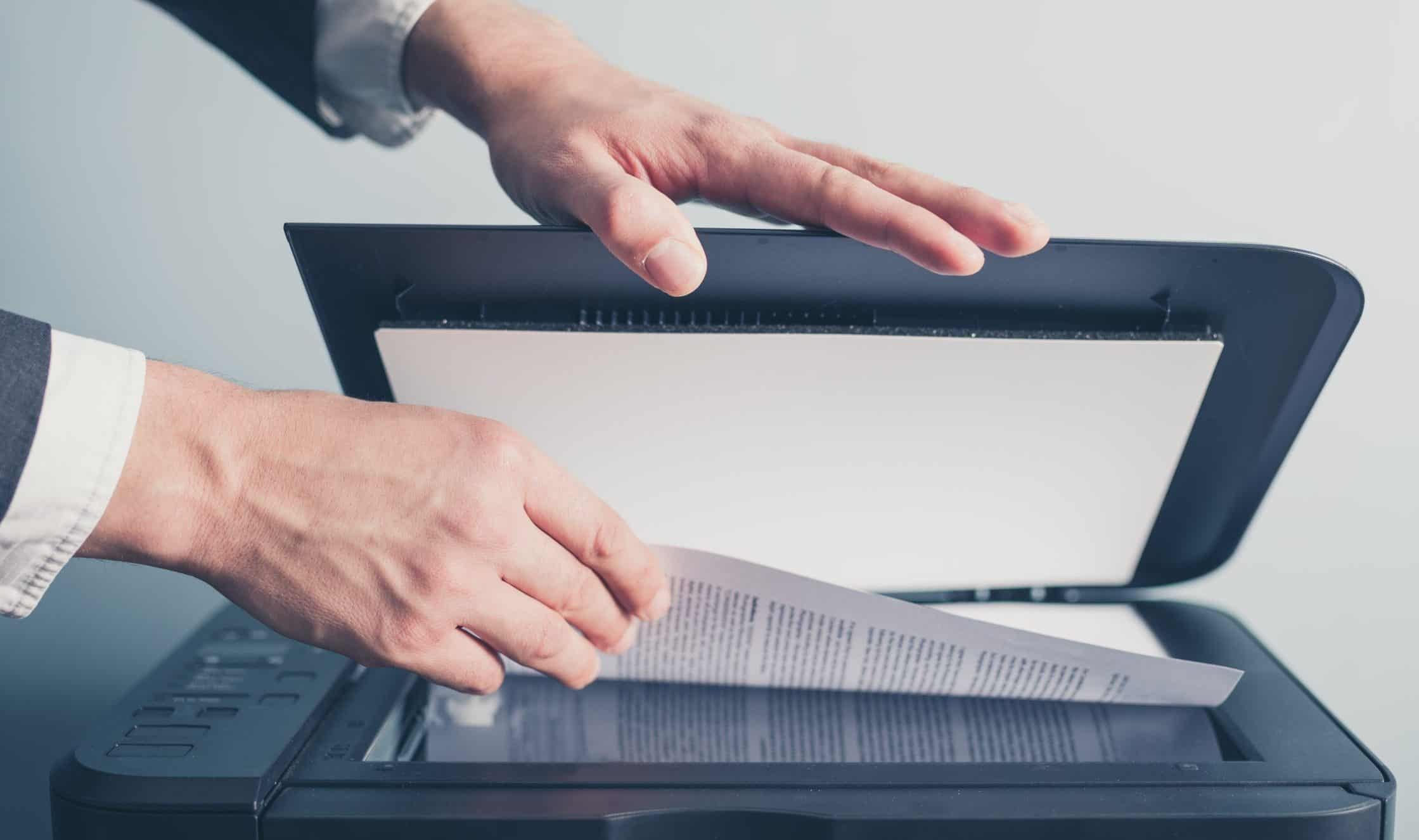 Scanned Document Management Software