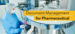 Document Management Pharmaceutical