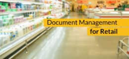Document Management System for Retail