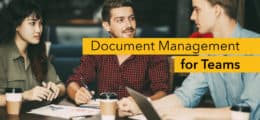 Document management for teams