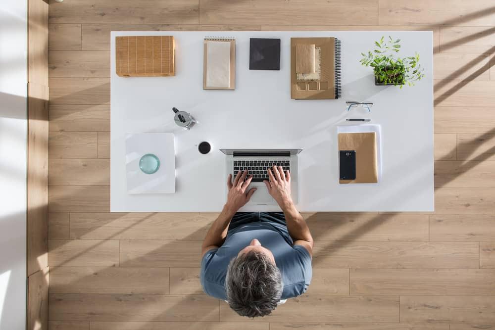 Organized Desk Office