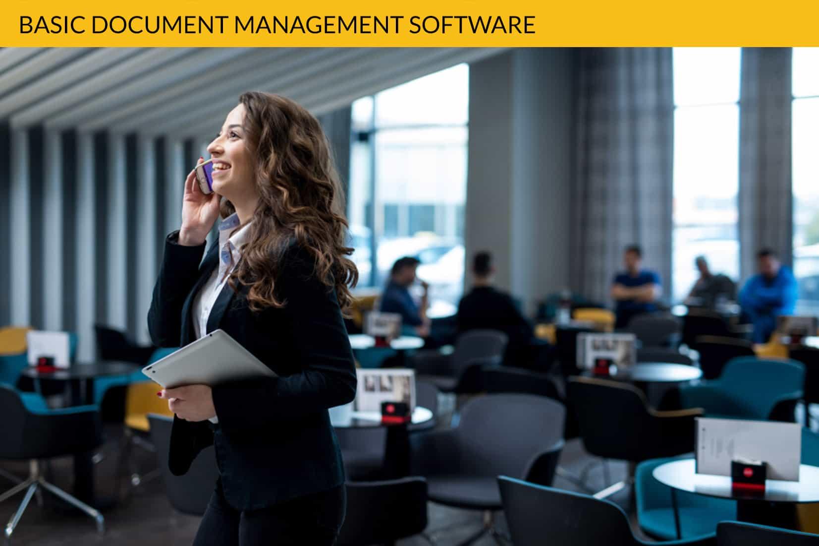 Basic Document Management Software
