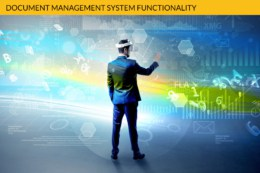 Document management system functionality