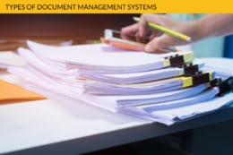 Types Document Management Systems