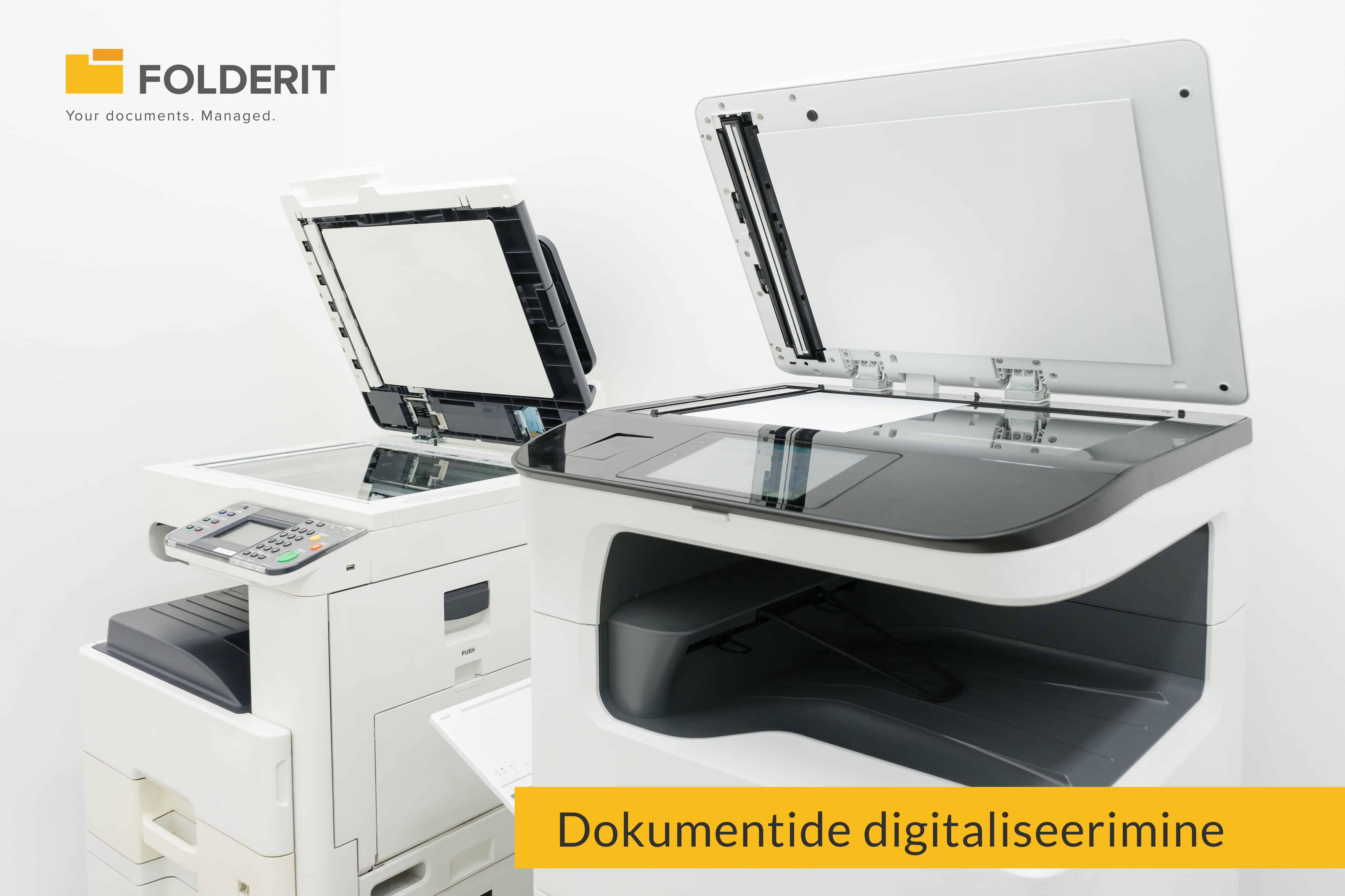 Dokumentide digitaliseerimine digiteerimine