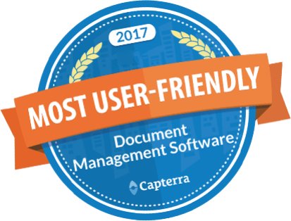 capterra badge easy dms