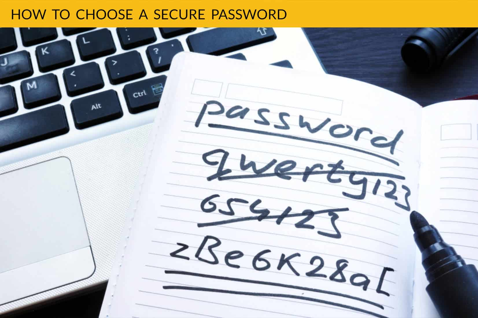 Choosing a secure password