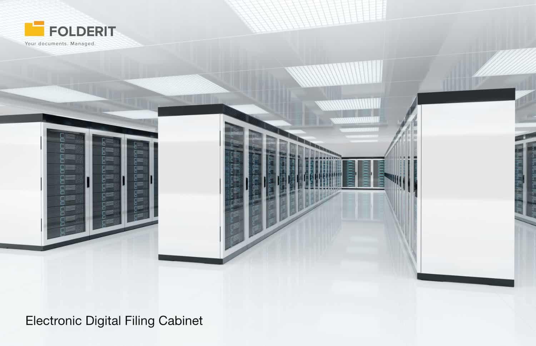 Electronic digital filing cabinet