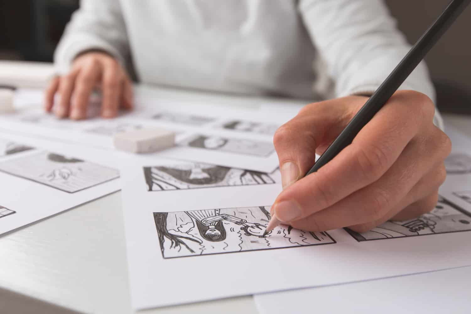 movie pre-production storyboard tools