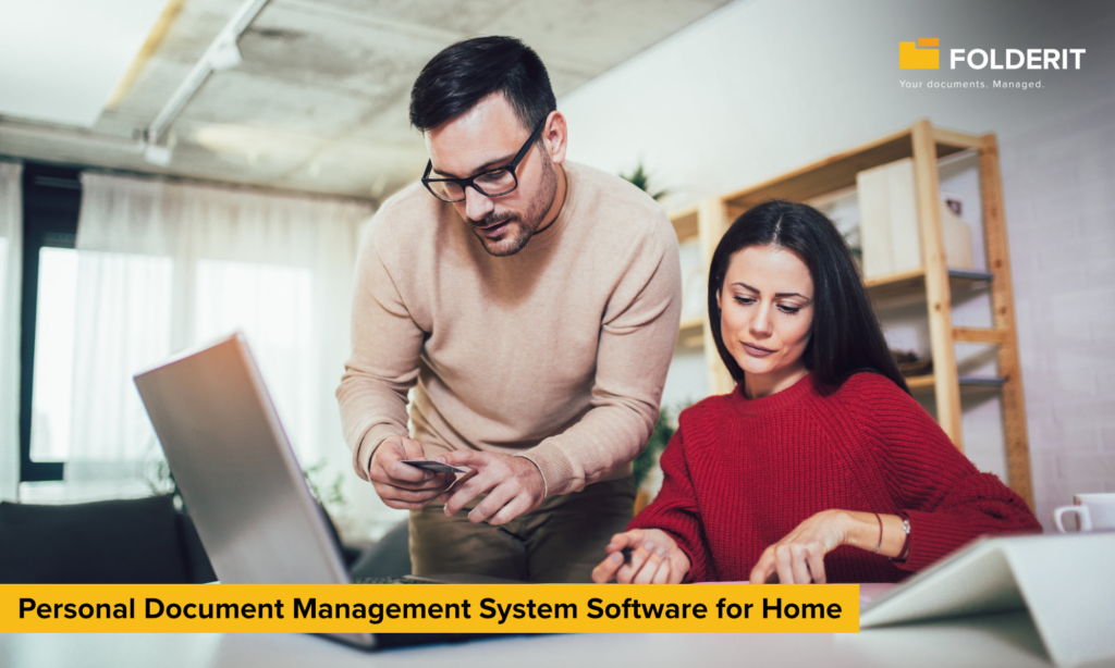 Personal Document Management System Software for Home