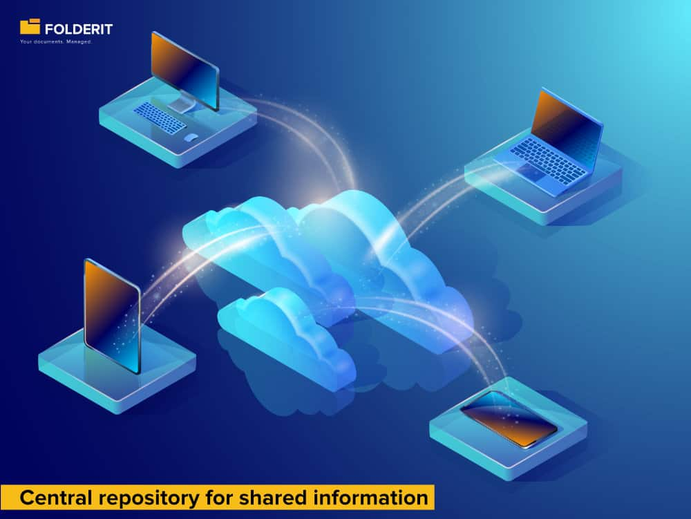 Central repository for shared information